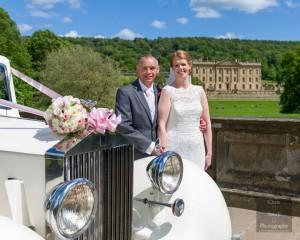Claire & Paul - Chatsworth & White Hart Wedding
